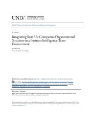 Integrating Start-Up Companies Organizational Structure in a Busi.pdf