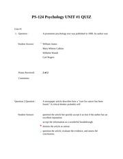 ps300 unit 4 discussion questions Discussion questions module 2: unit 6: conclusion module 2: module 3:  comprehension quiz module 4: unit 5: discussion questions module 4: unit 6: conclusion module 4:.