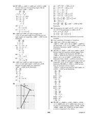 Pre-Calculus Homework Solutions 161