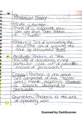 Rhetoric Notes 1