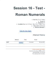 Session 16 - Test - Roman Numerals.pdf