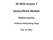 EE4353_Lecture_7_Shallow_Junction