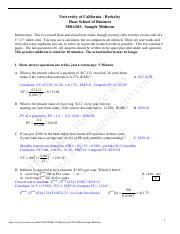 BA 103 - Finance - Fall 2003 - Marsh - Sample Midterm.pdf