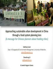 Week 12 Sustainable Urban Food Planning in China (1)