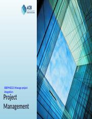 BSBPMG521 Manage Project Integration.pptx