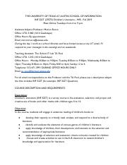 INF 322 Children's Lit Syllabus.pdf
