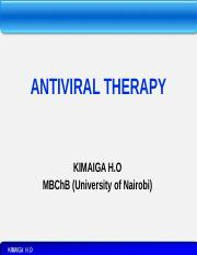 13. ANTIVIRAL THERAPY.pptx