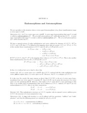 Lecture 14 Endomorphisms and Automorphisms