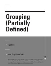 Grouping Partially Defined