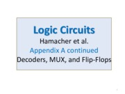 L6_Logic Circuits 3-Decoders, MUX & Flip-Flops.pdf