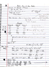 qa 252 analysis of variance notes