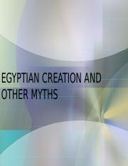 13 Egyptian Creation Tales.ppt