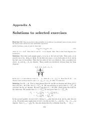 Solutions to selected exercises