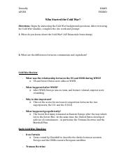Who-Started-the-Cold-War-Doc-Review-Worksheet