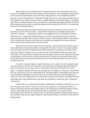 Synthesis Essay Digital Media and The Dumbest Generation.docx