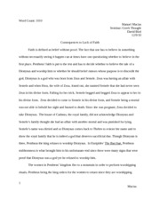 I need help on an essay on Oedipus and The Odyssey! ?