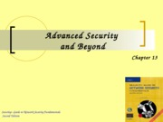 Ch13 - Advanced Security and Beyond