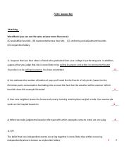 FQ10_Answer Key