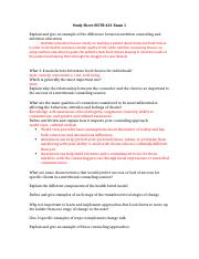Study Sheet NUTR 421 Exam 1.docx