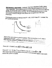 Physics - isothermal and adiabatic processes - Mar 16, 2014, 9-28 AM