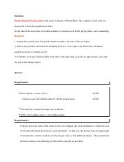 20) docx - Question Hanmi Financial Corporation is the