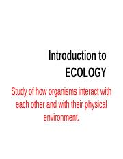 ECOLOGY chapter 1.pptx