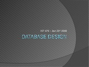 DatabaseDesign