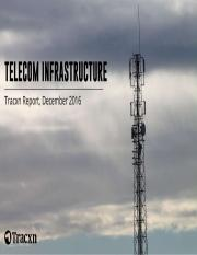 Tracxn Research – Telecom Infrastructure Landscape, December 2016
