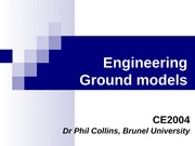 CE2004 Ground models handout