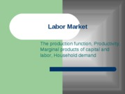 topic 02-labor and income - fall2010