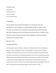 Debrehshia Wright Reflection paper #2.docx