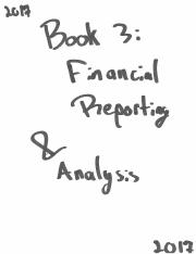 Schwezer - CFA 2017 Book 3 - Financial Reporting & Analysis