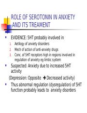 ANTI-ANXIETY DRUGS affecting Serotonin,  Noradrenaline  systems.ppt