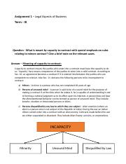Legal Aspects of Business Assignment 1.docx