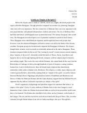 Indian Civilization Essay.docx