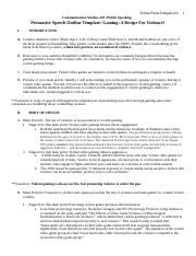 Persuasive Speech Outline Template on VIOLENT GAMING.docx