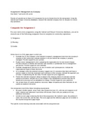 Management paper for kodak_directions