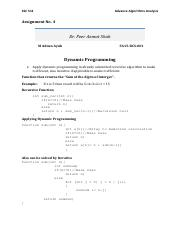 Advanced Algorithms Analysis-CSC511 - 4th Assignment.pdf