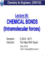 Lecture 06_Chemical Bonds update