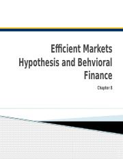 LECTURE 8 Market Efficiency Hypothesis.pptx