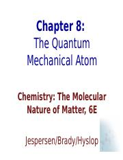 CH8_Quantum_Mechanical_Atom.ppt