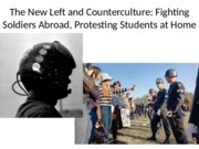 New Left and Counterculture Final Suny