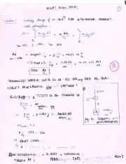 Solution End Sem Examination