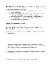 7 Habits Families Part 1 Questions (1)