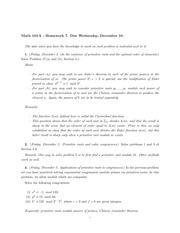 MATH 104A Fall 2014 Homework 7 Solutions
