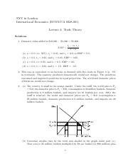 Exercises L4 Solutions