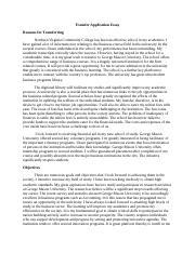 Gmu transfer application essay literature review of insurance company