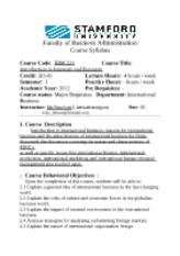 Syllabus intro int. bus sem 1-2012