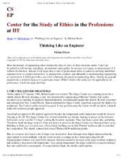 "Preview of ""Center for the Study of Ethics in the Professions"""
