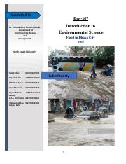 Flood in Dhaka City  (Report).docx